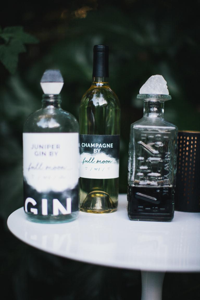custom alcohol labels